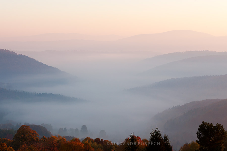 White Carpathians Sunrise